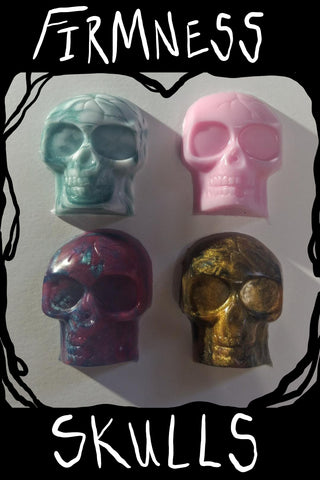 Firmness Sample Skulls- Set of Four - Fantasy Sex Toy, [product type] - dildo, KuduVoodoo - KuduVoodoo