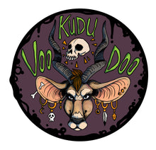 Kudu Voodoo Logo Sticker (Single and 3 Pack Listing) - Fantasy Sex Toy, [product type] - dildo, KuduVoodoo - KuduVoodoo