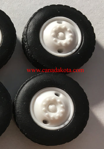 Canadakota 2 hole front steers white 1/64 set