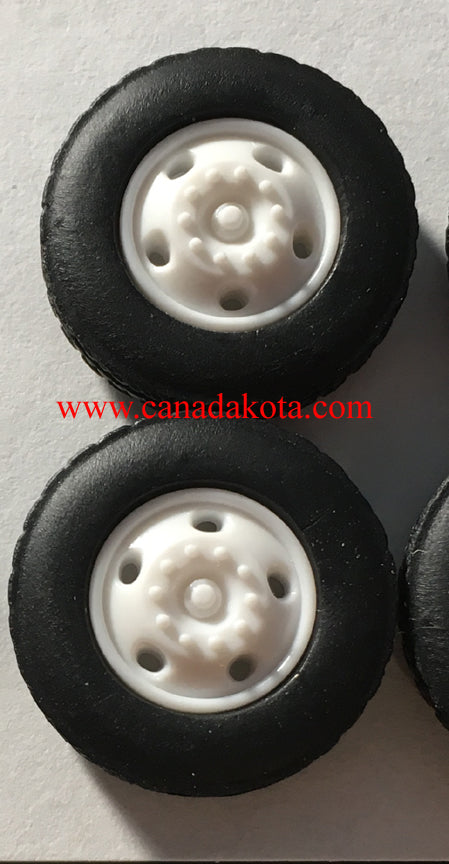 Canadakota 5 hole front steers white 1/64 set