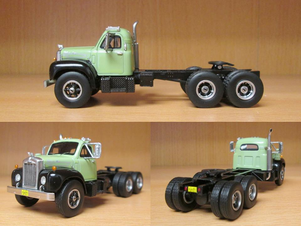 1/64 NEO Mack B-61ST, light green / black, 1957