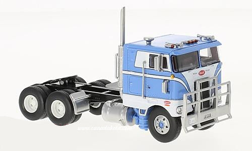Peterbilt 352 blue white 86