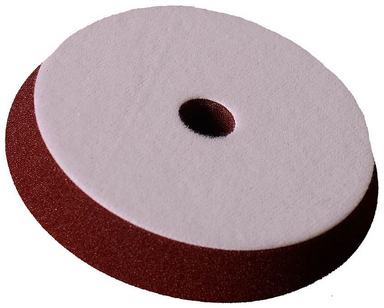 Buff and Shine Maroon  Uro-Tec™  Med. Cut Polishing Foam Grip Pad™  7 inch
