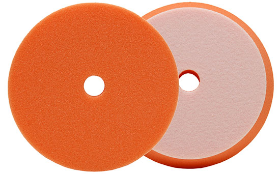 Buff and Shine Orange  Uro-Cell™ Polishing Foam Grip Pad™  7 in