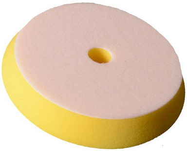Buff and Shine Yellow Uro-Tec™ Polishing Foam Pad Grip Pad™  6 inch