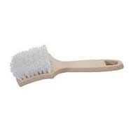 Carpet Brush Stiff White Bristles