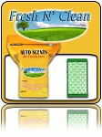 Fresh N' Clean Auto Scents Pads   60ct