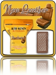 New Leather Auto Scents Pads  60 ct