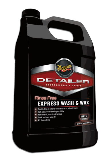 Rinse Free Express Wash & Wax - 1 gal