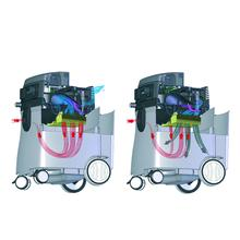 Rupes S145EPL Vacuum System_Filtration System