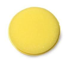 Yellow Foam Applicator Pads - 4 inch  - 6 PACK