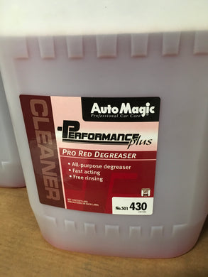 Auto Magic Pro Red Degreaser 5gal.