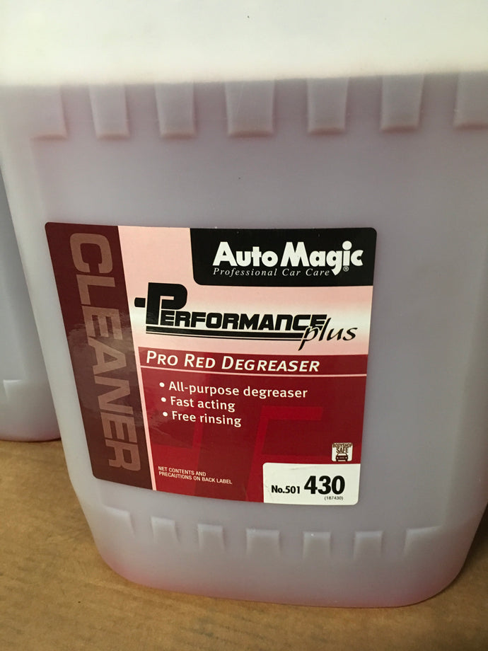 AutoMagic Pro Red Degreaser 5gal.