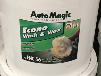 Automagic ECONO Wash And Wax 5 Gal.