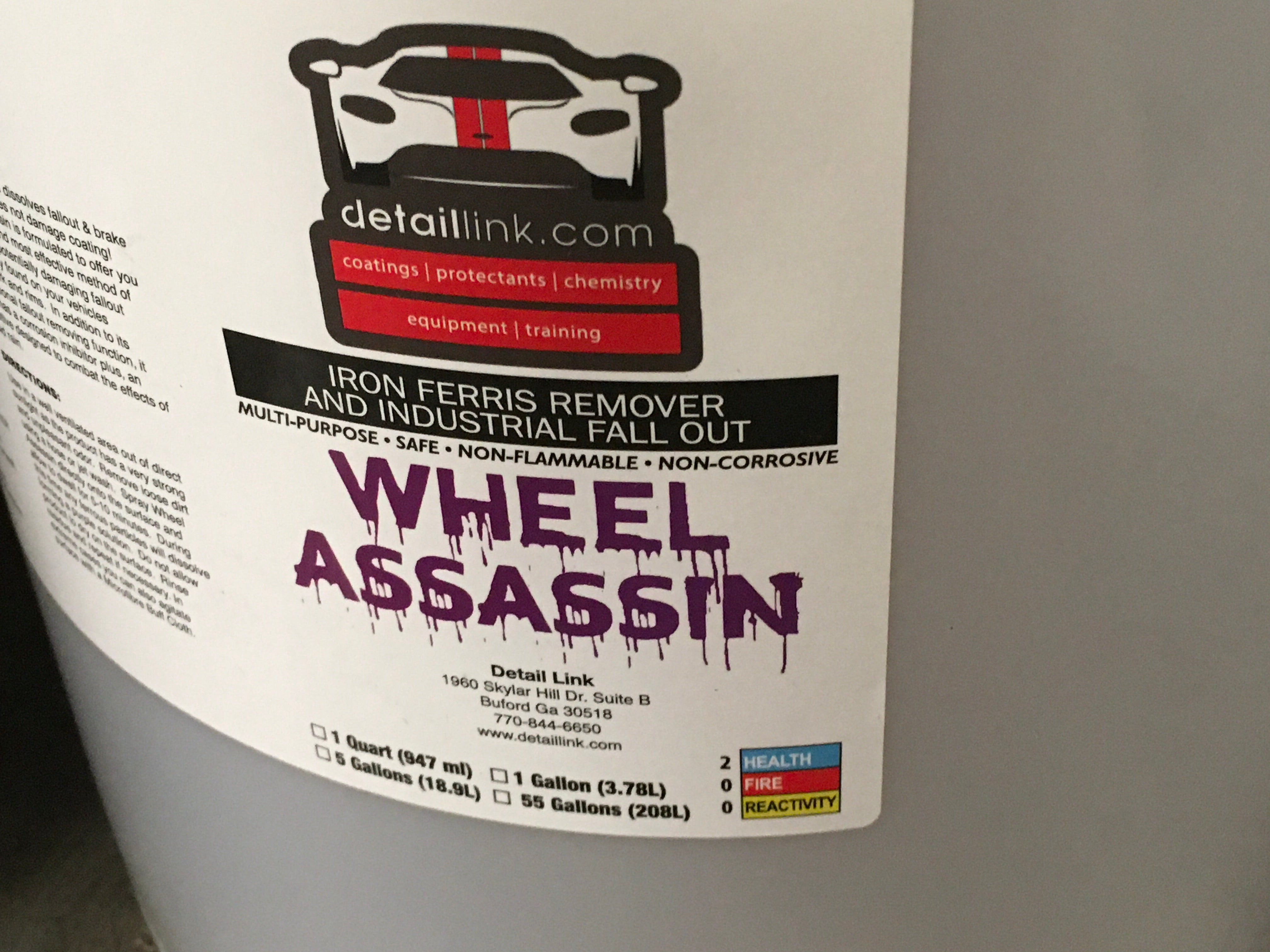Wheel Assassin Iron Remover 5 Gal