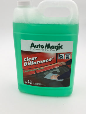 AutoMagic Clear Difference Glass Cleaner 1 Gal