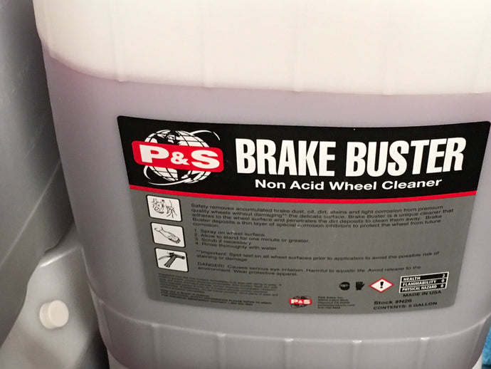 Brake Buster Total Wheel Cleaner 5 Gal