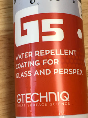 Gtechniq Water Repellent Coating for Glass and Perspex 100ML