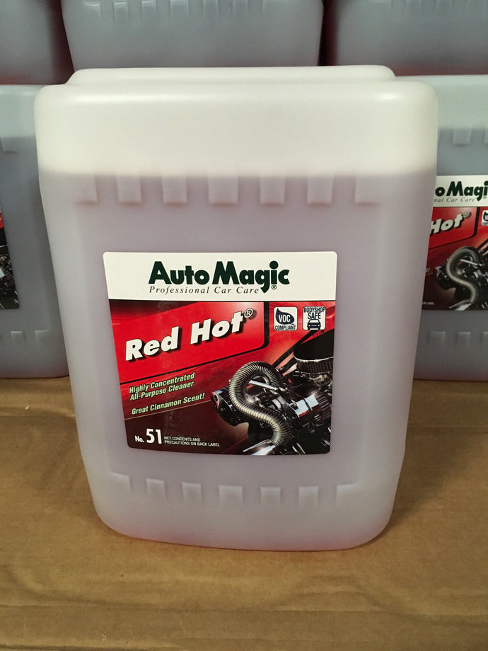 AutoMagic Red Hot All Purpose Cleaner 5 Gal.
