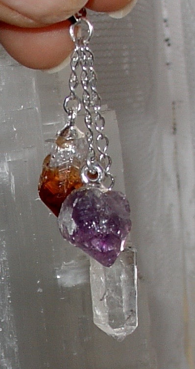 B0027 Crystals in 1 Pendant