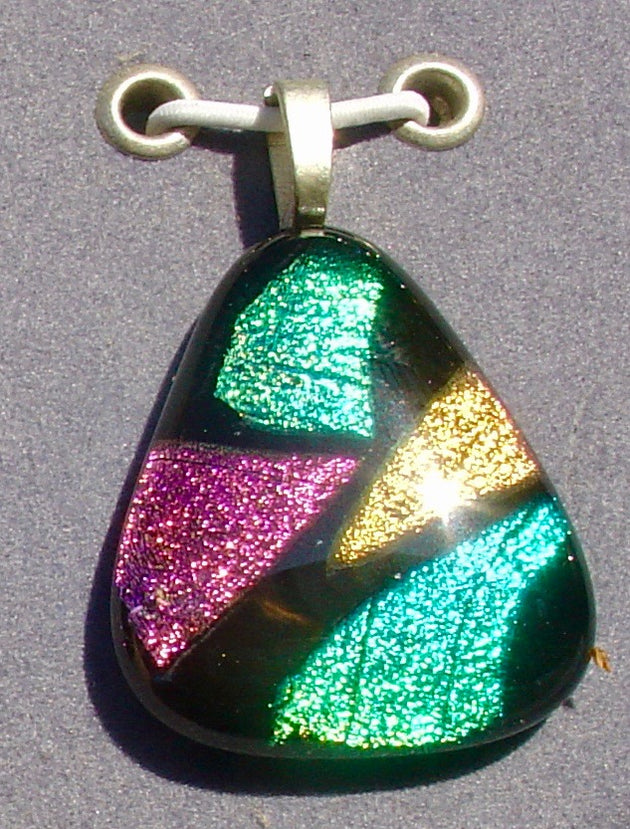 G0079 Dichroic (Handmade) Glass Jewellery