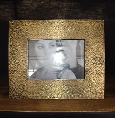 L0003 Shabby Chic Gold Metal Picture Frame