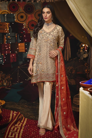 Eshaal Embroidered Luxury Chiffon Collection-EA-601