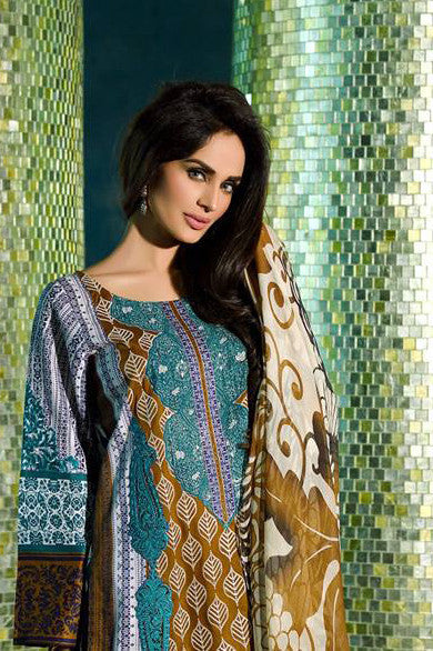 HSY Lawn by Ittehad Textiles Spring/Summer '15 – 3A - YourLibaas  - 1