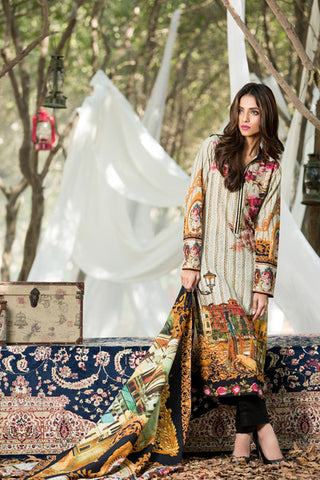 Gul Ahmed Karandi silk collection -Kr 5