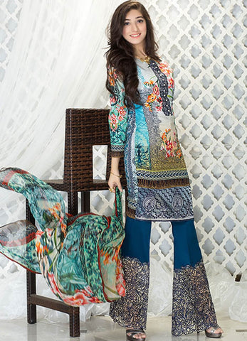 Iznik Luxury Lawn Festival Collection 2017 – Enchanting Marvel