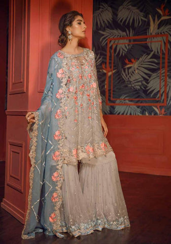 Eshaal Embroidered Luxury Chiffon Collection  – EA05