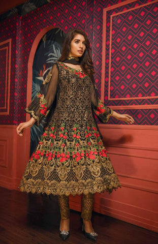 Eshaal Embroidered Luxury Chiffon Collection – EA02