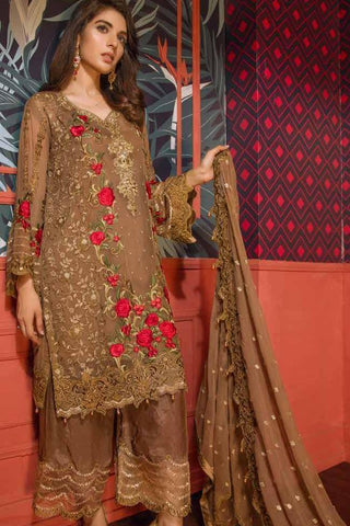 Eshaal Embroidered Luxury Chiffon Collection  – EA03