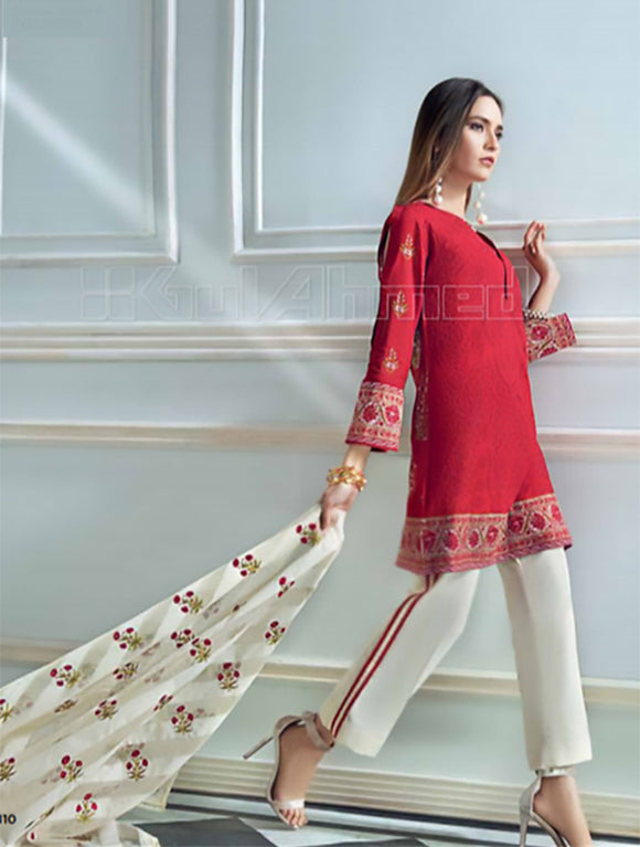 Gul ahmed Premium silk collection Ks1