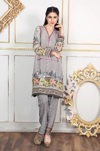 Allure By Motifz - Grip Silk/Pure Crepe Collection – 1442-A - YourLibaas  - 1