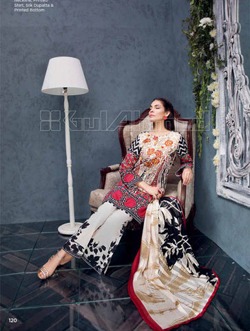 Gul ahmed Premium silk collection R7