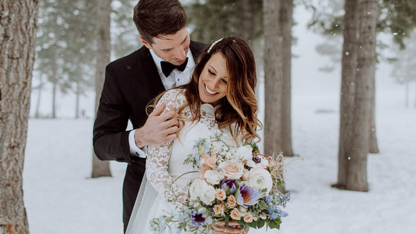 Ashley + Eric // Northstar Winter Wedding