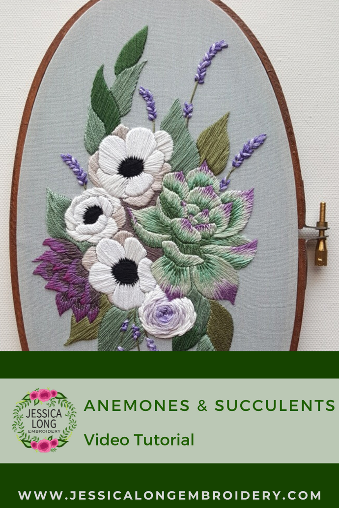 Anemones and Succulents