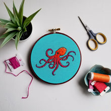 Pacific Octopus Embroidery Pattern (PDF)