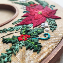 Holiday Wreath Embroidery Pattern (PDF)