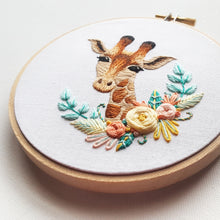 Giraffe Embroidery Pattern (PDF)