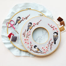 Spring Wreath Embroidery Kit