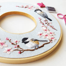 Spring Wreath Embroidery Kit with Video Tutorial