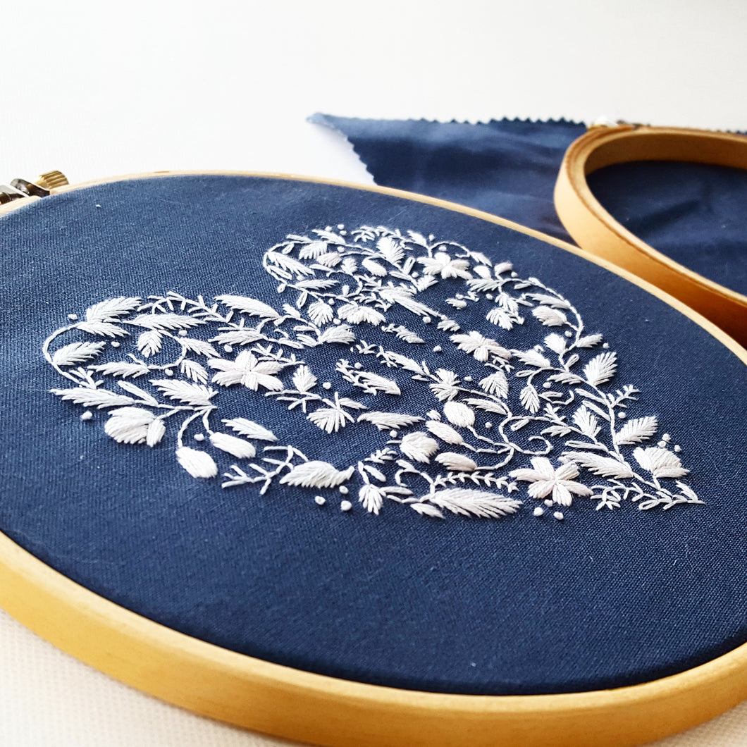 LOVE Hand Embroidery Pattern PDF – Jessica Long Embroidery