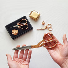 Deluxe Rose Gold Scissor Gift Set