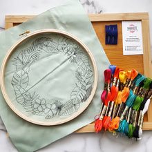 Tropical Paradise Embroidery Kit