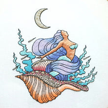 Mermaid Dreams Hand Embroidery Pattern (PDF)