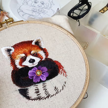 Red Panda Embroidery Pattern (PDF)