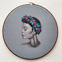 Modern Cameo Embroidery Pattern (PDF)