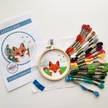 Little Fox Embroidery Kit